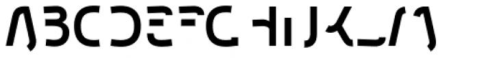Etewut Sans Bold Half Font UPPERCASE