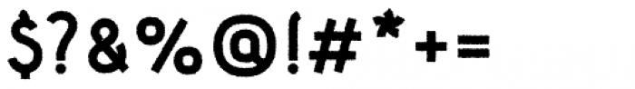 Etewut Sans Bold Rough Font OTHER CHARS