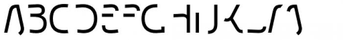 Etewut Sans Half Font UPPERCASE