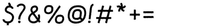 Etewut Sans Italic Rough Font OTHER CHARS