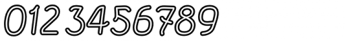 Etewut Sans Italic Rounded Stroked Font OTHER CHARS