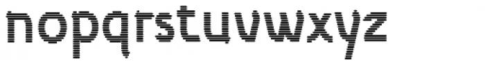Etewut Sans Lines Font LOWERCASE