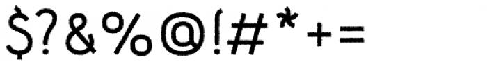 Etewut Sans Rough Font OTHER CHARS