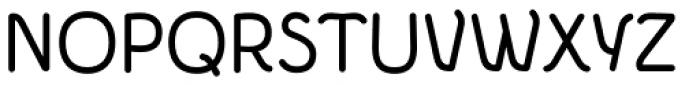 Etewut Sans Rounded Font UPPERCASE