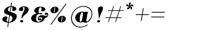 Etewut Serif Bold Italic Font OTHER CHARS