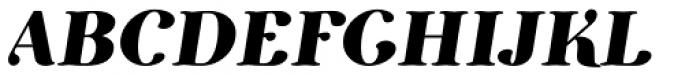 Etewut Serif Bold Italic Font UPPERCASE