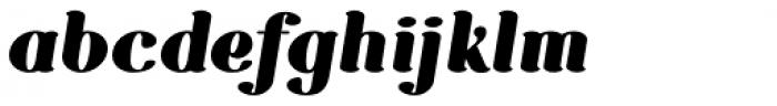 Etewut Serif Bold Italic Font LOWERCASE