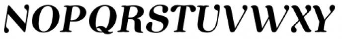 Etewut Serif Italic Font UPPERCASE