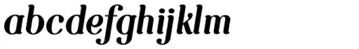 Etewut Serif Italic Font LOWERCASE