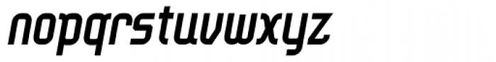 Ether Bold Slant Font LOWERCASE