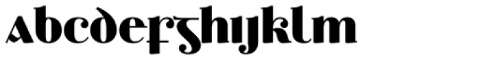 Ethlinn Bold Font LOWERCASE