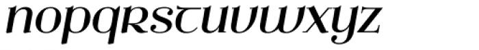 Ethlinn Italic Font LOWERCASE