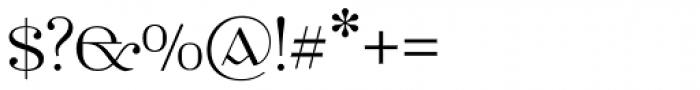 Ethlinn Light Font OTHER CHARS