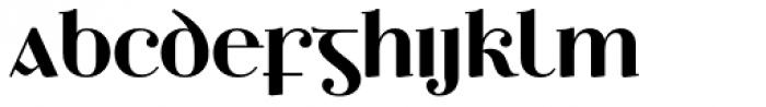 Ethlinn Semi Bold Font UPPERCASE