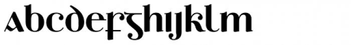 Ethlinn Semi Bold Font LOWERCASE