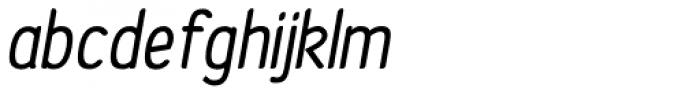 Etho Bold Italic Font LOWERCASE