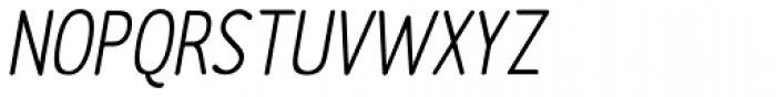 Etho SemiBold Italic Font UPPERCASE