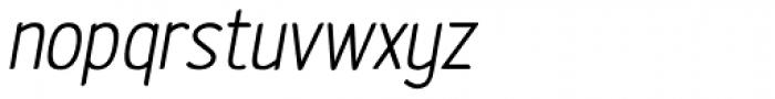 Etho SemiBold Italic Font LOWERCASE