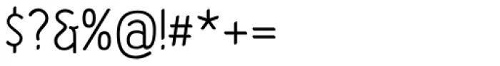 Etho SemiBold Font OTHER CHARS