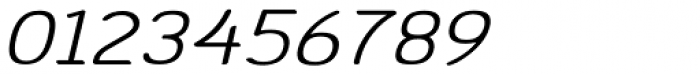 Etho Wide SemiBold Italic Font OTHER CHARS