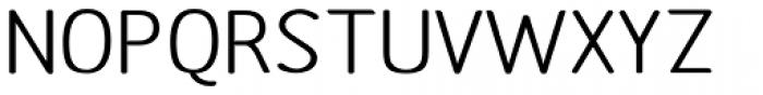 Etho Wide SemiBold Font UPPERCASE