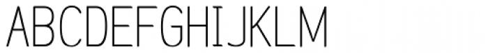 Etho Font UPPERCASE