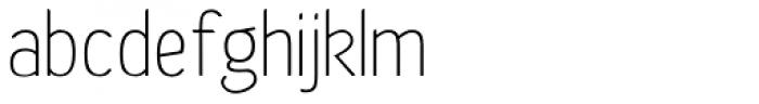 Etho Font LOWERCASE