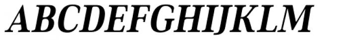 Ethos Condensed Bold Italic Font UPPERCASE