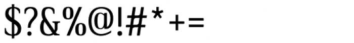 Ethos Condensed Regular Font OTHER CHARS