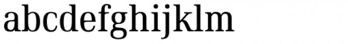 Ethos Condensed Regular Font LOWERCASE