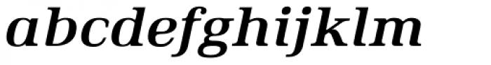 Ethos Expanded Bold Italic Font LOWERCASE