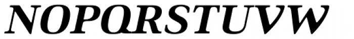 Ethos Expanded Heavy Italic Font UPPERCASE
