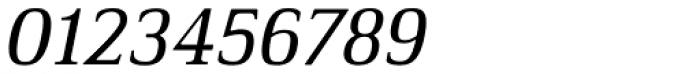 Ethos Regular Italic Font OTHER CHARS