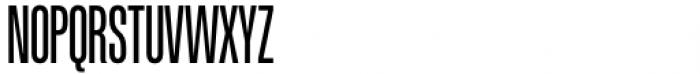 Etrusco Now  Compressed Regular Font UPPERCASE