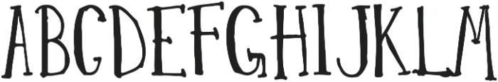EucalyptusTree otf (400) Font UPPERCASE