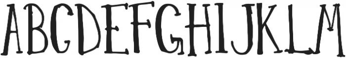 EucalyptusTree otf (400) Font LOWERCASE