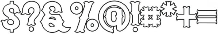 Euphoria Tuscan otf (400) Font OTHER CHARS