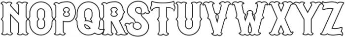 Euphoria Tuscan otf (400) Font UPPERCASE
