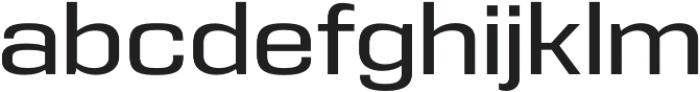 Eurocine otf (400) Font LOWERCASE