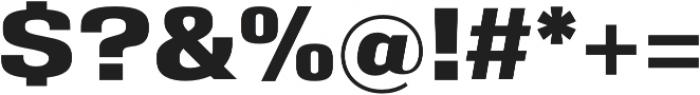 Eurocine otf (700) Font OTHER CHARS