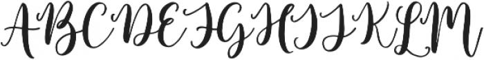 Europia otf (400) Font UPPERCASE