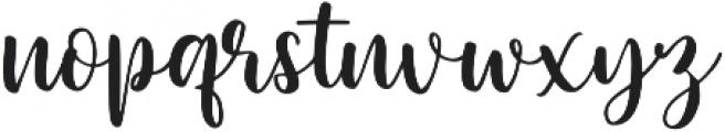 Europia otf (400) Font LOWERCASE