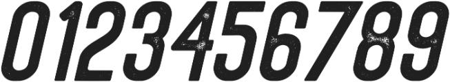 Eusthalia Sans Slant Stamped otf (400) Font OTHER CHARS