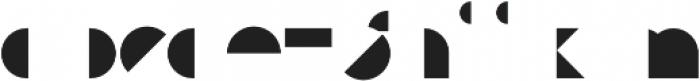 Eutopia Yang Duotone otf (400) Font LOWERCASE