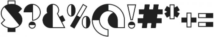 Eutopia Yang otf (400) Font OTHER CHARS