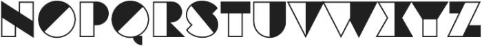 Eutopia Yang otf (400) Font UPPERCASE