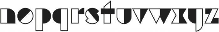 Eutopia Yang otf (400) Font LOWERCASE