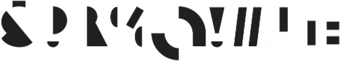 Eutopia Yin Duotone otf (400) Font OTHER CHARS