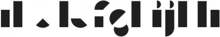 Eutopia Yin Duotone otf (400) Font LOWERCASE