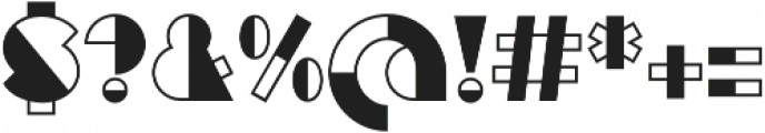 Eutopia Yin otf (400) Font OTHER CHARS